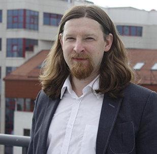 Политолог Алексей Дзермант. Архивное фото