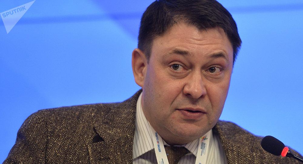 Архивное фото руководителя РИА Новости Украина Кирилла Вышинского