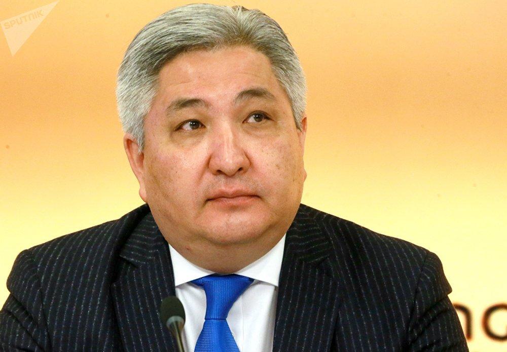 Посол Кыргызской Республики в РФ Болот Отунбаев