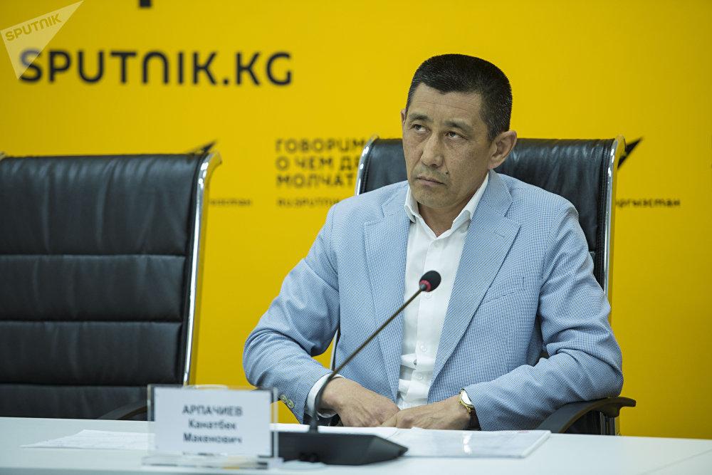 Заместитель директора Государственного агентства по делам молодежи, физической культуры и спорта КР Канатбек Арпачиев