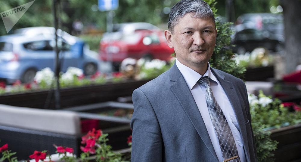 Директор Республиканского центра СПИД Улан Кадырбеков
