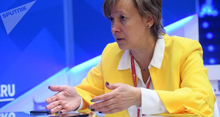 Архивное фото члена коллегии по торговле, Евразийской экономической комиссии Вероники Никишиной