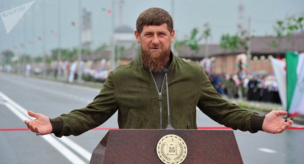 Чеченстандын президенти Рамзан Кадыровдун архивдик сүрөтү
