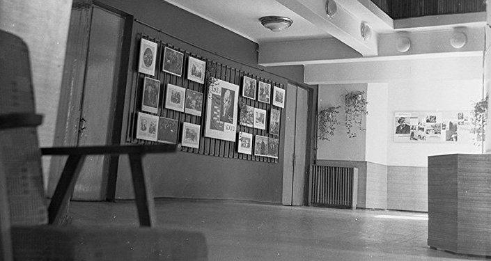 Интерьер кинотеатра Ала-Тоо, 1979 год