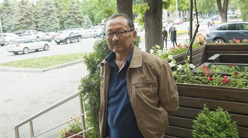 Актер театра и кино Марат Жантелиев