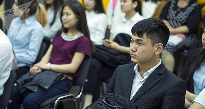 Образовательный проект SputnikBilim — встреча с специалистами коммерческого банка