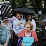 Акция в поддержку журналиста К. Вышинского