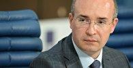 Архивное фото политического обозревателя телеканала Россия 1 Андрея Кондрашова