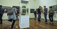 Посетители в музее Гапара Айтиева. Архивное фото