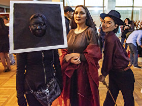 Пятая ежегодная акция Ночь в музее в Бишкеке
