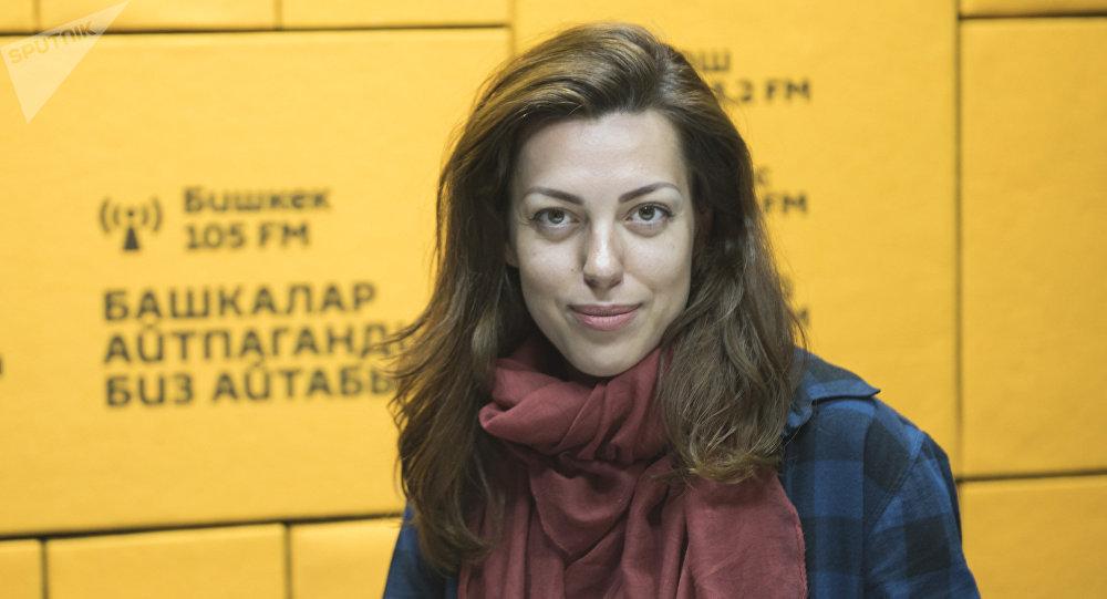 Психолог Александра Стыценко. Архивное фото