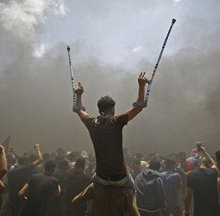 Израилдин түптөлгөндүгүнүн 70 жылдыгына карата АКШ президенти Дональд Трамп Иерусалимде аталган мамлекеттин элчилиги ачылгандыгын расмий жарыялады. АКШ жетекчисинин бул кадамы дүйнөнүн көп өлкөлөрүнүн нааразылыгын жаратты