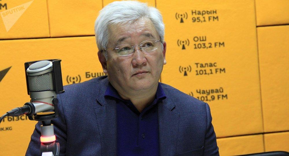 Архивное фото экс-мэра Бишкека Кубанычбека Кулматова