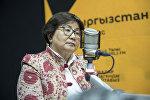 Кыргыз Республикасынын экс-президенти Роза Отунбаева. Архив
