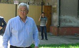 Что сказал Кубанычбек Кулматов, выйдя с допроса. Видео