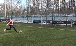 Победный пенальти в ворота Романа Березовского