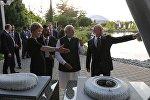 Россия президенти Владимир Путин менен Индиянын премьер-министри Нарендра Моди