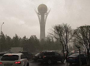 Астанадагы бороон. Архивдик сүрөт