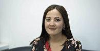 Борбордук Азиядагы IDEA программасынын долбоорлор координатору Нурайым Шамырканова