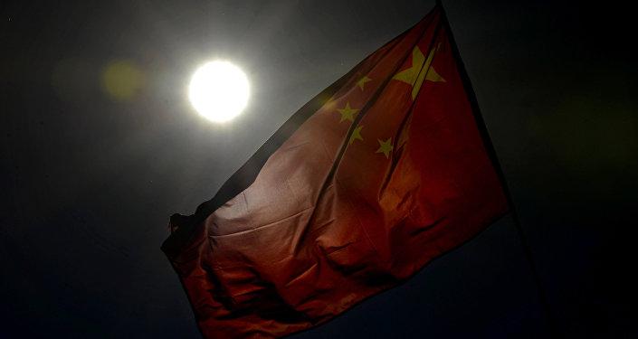 Кытай желеги. Архивдик сүрөт