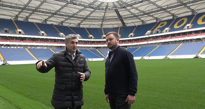 Министр спорта Ростовской области Самвел Аракелян