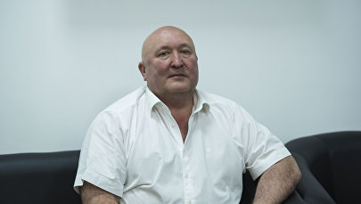 Президент Федерации баскетбола КР Бахтияр Кадыров