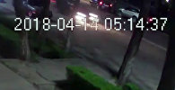 Милиция гналась за нарушителем на частном авто — новое видео наезда на девушку