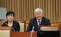 На заседании Жогорку Кенеша депутаты рассмотрели вопрос об избрании судей Верховного суда Кыргызской Республики. 23 мая, 2018 года