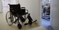 Инвалидная коляска. Архивное фото