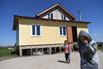 Кыргызский поселок в Заокском районе Тульской области