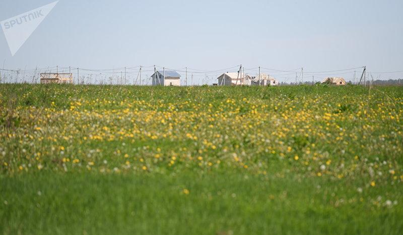Кыргызский поселок в Заокском районе Тульской области в Российской Федерации