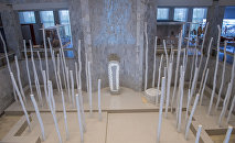 Вид изнутри на государственный исторический музей Кыргызстана после реконструкции
