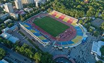 Бишкек шаарындагы Дөлөн Өмүрзаков атындагы Спартак стадиону. Архив
