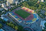 Вид на центральный стадион имени Долона Омурзакова в Бишкеке с высоты. Архивное фото