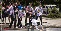 Выпускники столичных школ отметили Последний звонок в Бишкеке