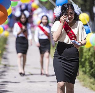 Выпускники столичных школ. Архивное фото