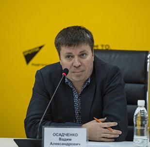 Продюсер радио Sputnik Кыргызстан Вадим Осадченко