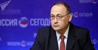 Директор Института стратегического планирования РФ, доктор политических наук Александр Гусев. Архивное фото
