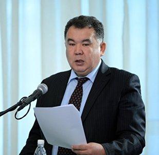 Полномочный представитель правительства в Чуйской области Туйгунаалы Абдраимов. Архивное фото