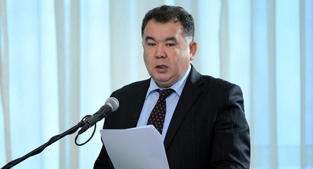 Бывший полномочный представитель правительства в Чуйской области Туйгунаалы Абдраимов. Архивное фото