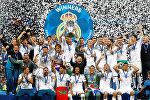 Испаниялык Реал Мадрид футбол клубу англиялык Ливерпулду Чемпиондор лигасынын финалында 3:1 эсебинде жеңди