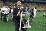 Главный тренер футбольного клуба Реал Мадрид Зинедин Зидан. Архивное фото