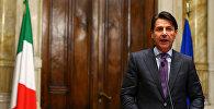 Исполняющий обязанности премьер-министра Италии Джузеппе Конте. Архивное фото