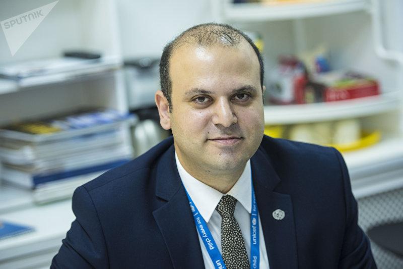 Заместитель представителя Детского фонда ООН (ЮНИСЕФ) в Кыргызстане Мунир Мамедзаде