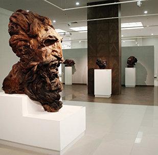 Скульптура Моисей работы Степана Эрьзи