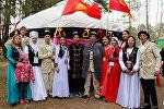 Кыргызстанцы на международном фестивале в Тюмени