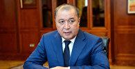 Экономикалык кылмыштарга каршы күрөшүү мамлекеттик кызматынын (Финпол) мурунку башчысы Бакир Таиров. Архивдик сүрөт