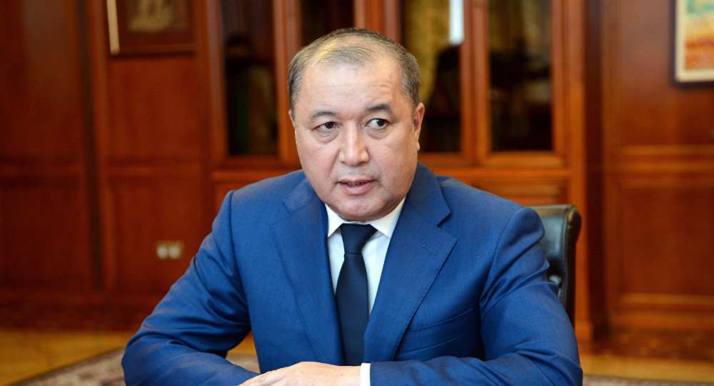 Бывший председатель Государственной службы по борьбе с экономическими преступлениями (ГСБЭП, Финпол) Бакир Таиров. Архивное фото