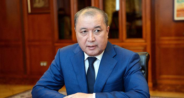 Председатель Государственной службы по борьбе с экономическими преступлениями (ГСБЭП) Бакир Таиров