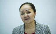 Глава управления профессионального образования Министерства образования Гульмира Абылкасымова. Архивное фото